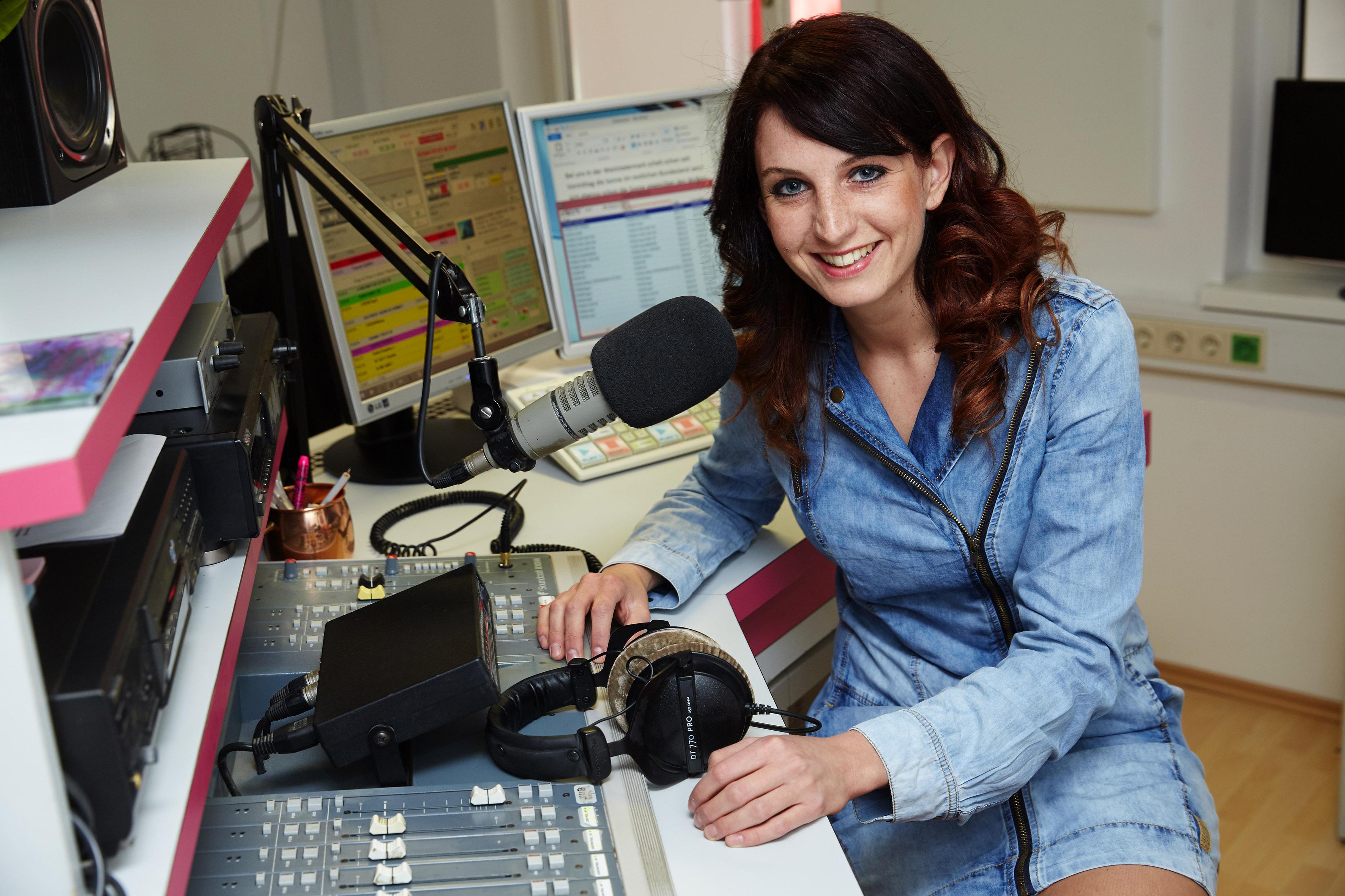 """""""Radio-Moderatorin ist der schönste Beruf, den es gibt!"""""""