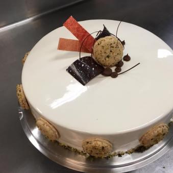 Kürbis-Karamell-Torte